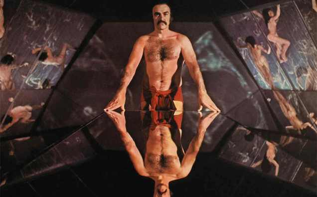 Zardoz (1974) Directed by John Boorman Shown: Sean Connery